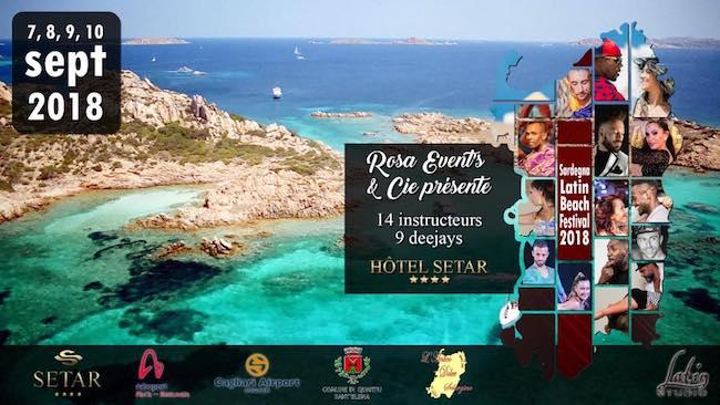 Sardegna Latin Beach Festival 2018