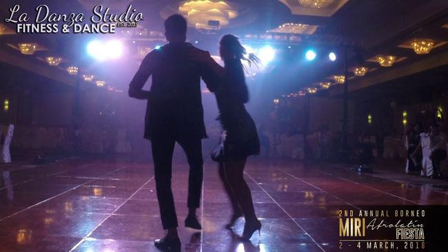 Ela Kiseur & Sanjay MJ, kizomba fusion show al Miri Afrolatin Fiesta 2018