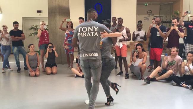 Tony Pirata & Lydia Laprade show kizomba Eindhoven